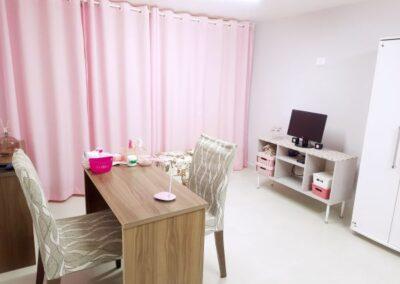 Ambiente de atendimento para manicure e pedicure Val Rechia
