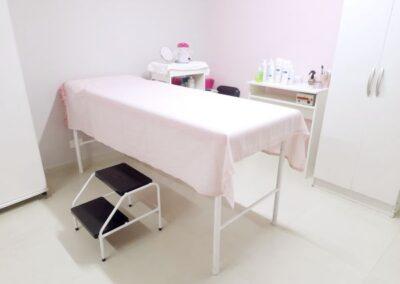 Maca para atendimento de limpeza de pele e depilação do salão de beleza Val Rechia